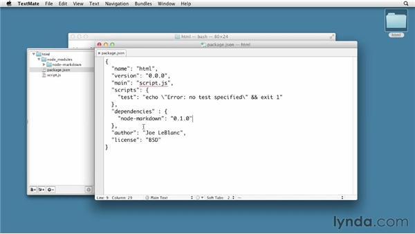 Maintaining modules: Node.js First Look