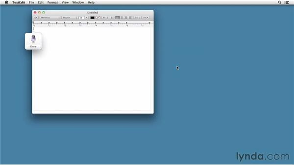 Talking to your Mac using Dictation: Mac OS X Mountain Lion New Features