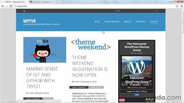 Designing menus: WordPress: Building Responsive Themes