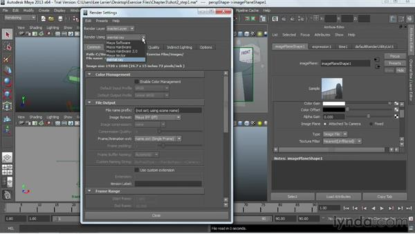 Welcome: Maya Rendering for After Effects Composites