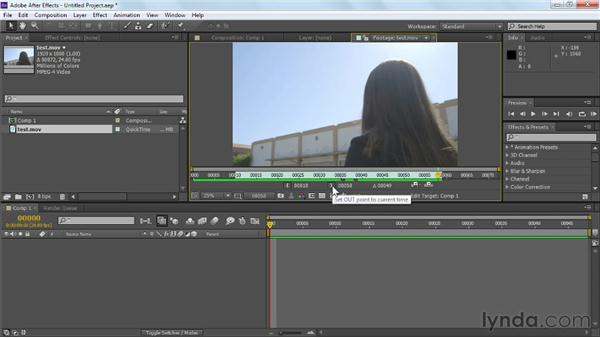 Working with image sequences: Maya Rendering for After Effects Composites