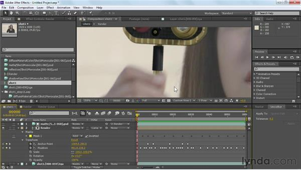 Improving layer movement with the Smoother tool: Maya Rendering for After Effects Composites