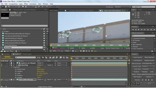 Applying motion tracking data to a null layer: Maya Rendering for After Effects Composites