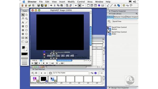 QuickTime files: Director MX Essential Training