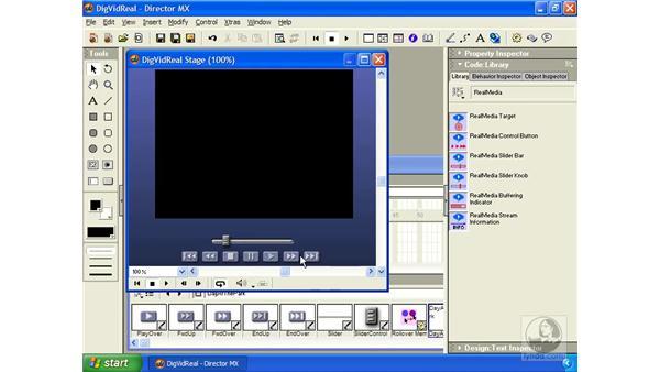 RealMedia files: Director MX Essential Training