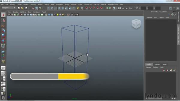Blocking out the overall form: Game Prop Creation in Maya