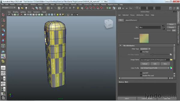 Unwrapping the sides: Game Prop Creation in Maya