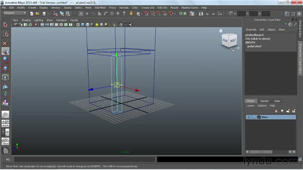 Blocking out the basic form: Game Prop Creation in Maya