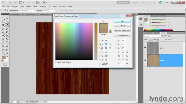 Colorizing the grain and planning for stains: Game Prop Creation in Maya
