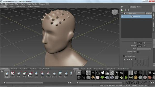 Overview of Mudbox: Game Prop Creation in Maya