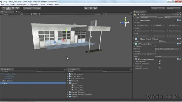 Overview of importing into Unity: Game Prop Creation in Maya