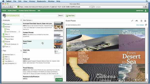 Working with Evernote: Cloud Computing First Look
