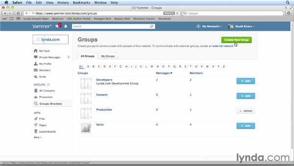 Working with Yammer: Cloud Computing First Look