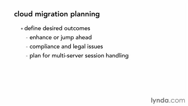 Making a cloud migration plan: Cloud Computing First Look