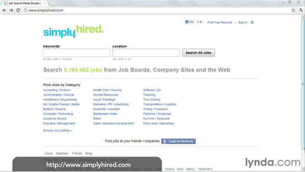 Using a job search agent successfully: Job Search Strategies
