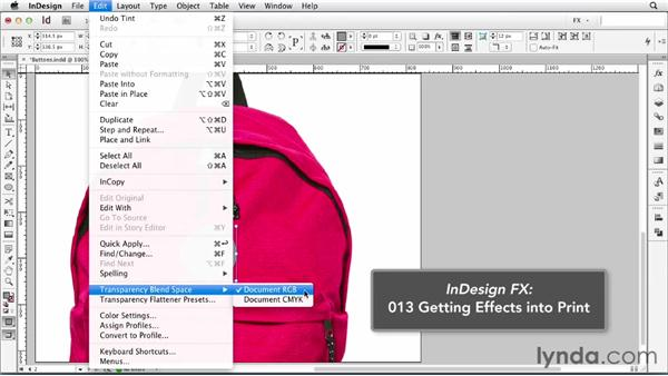 054 Creating personal buttons: InDesign FX