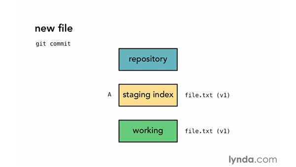 The Git workflow: Git Essential Training