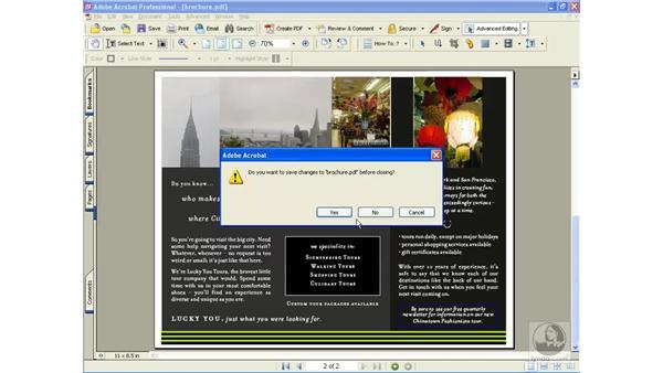 cross-document linking: Learning Acrobat 6