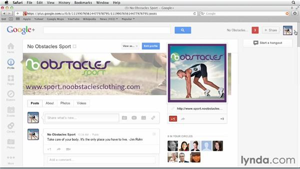 Deleting your profile: Google+ for Business (2012)