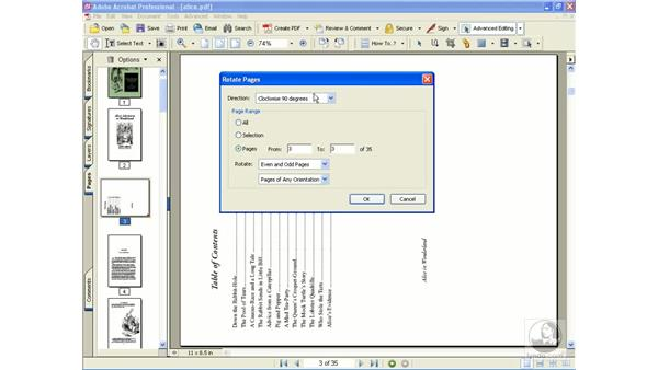 move, rotate and crop: Learning Acrobat 6