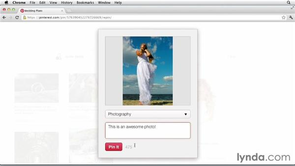 Repinning explained: Up and Running with Pinterest