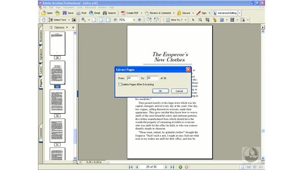 extracting pages: Learning Acrobat 6