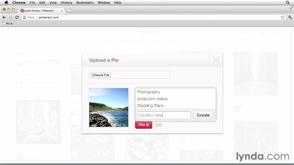 : Up and Running with Pinterest