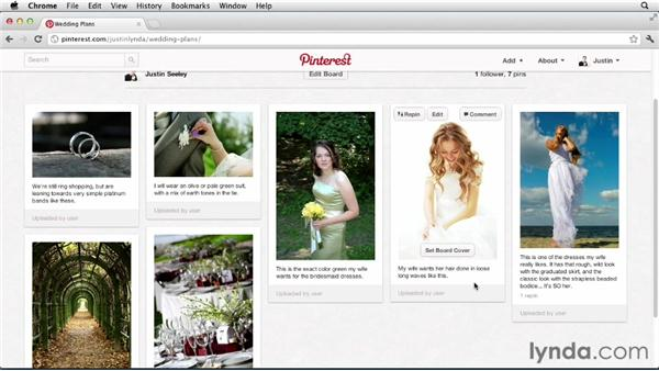 Planning a wedding: Up and Running with Pinterest