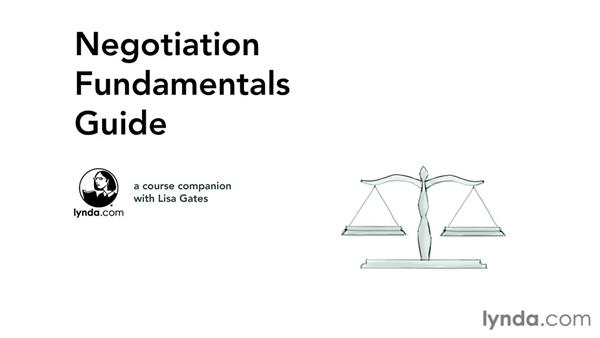 Getting the most out of this course: Negotiation Fundamentals