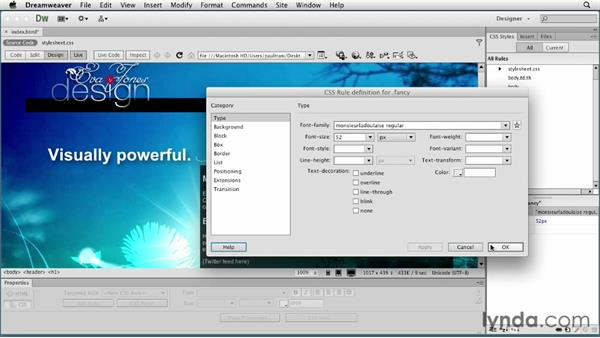 Welcome: Creating a First Web Site with Dreamweaver CS6