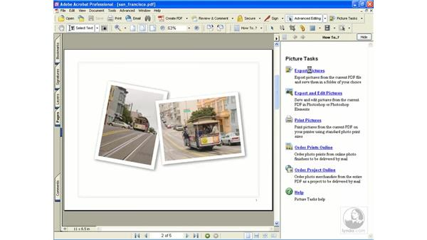 picture tasks: Learning Acrobat 6