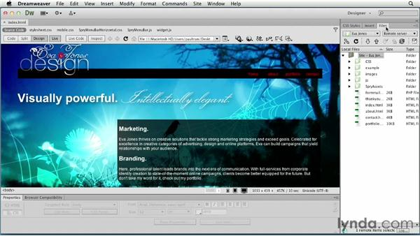 Uploading the web site: Creating a First Web Site with Dreamweaver CS6