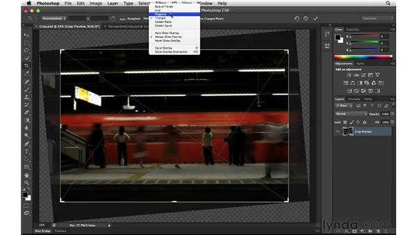 Reinventing the Crop tool: Photoshop Insider Training: Enhancing Photos