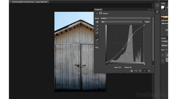 Exploring strategies for using Curves: Photoshop Insider Training: Enhancing Photos