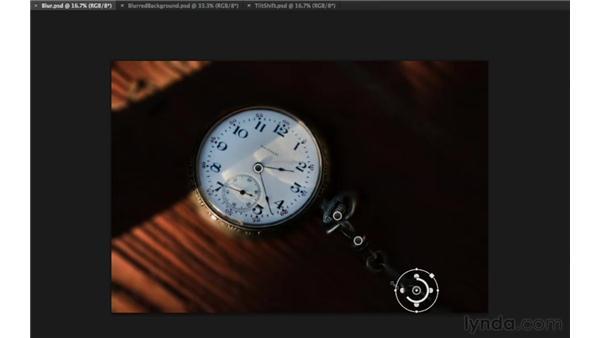 Using Iris Blur to create shallow depth of field: Photoshop Insider Training: Enhancing Photos