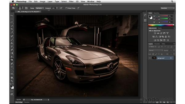 The evolving Dodge, Burn, and Sponge tools: Photoshop Insider Training: Enhancing Photos