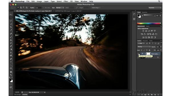 Surprising yourself with the Color Look Up Adjustment layer: Photoshop Insider Training: Enhancing Photos