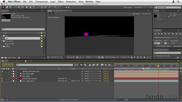 044 Using C4D to move Particular in After Effects: Design in Motion