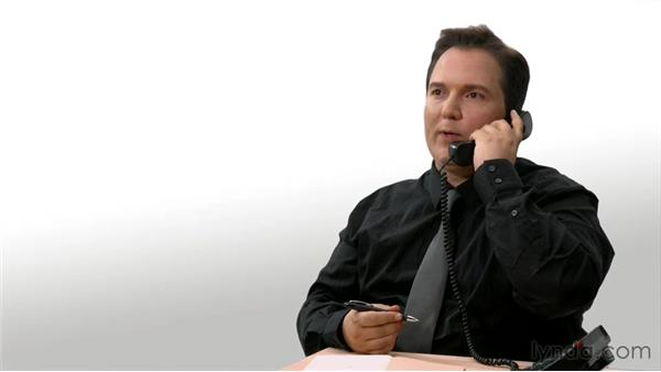 A sample phone call for business sales: Sales Skills Fundamentals