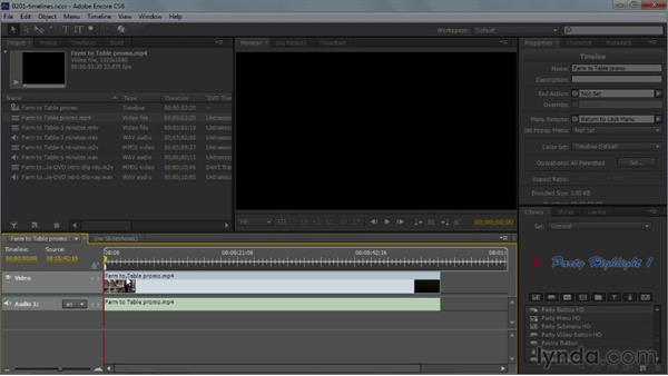 Welcome: Up and Running with Encore CS6