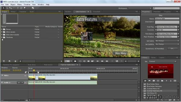 Introducing the Encore workflow: Up and Running with Encore CS6
