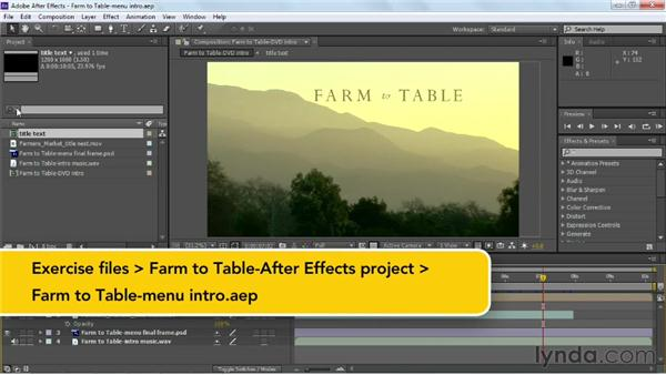Linking dynamically to Premiere Pro and After Effects: Up and Running with Encore CS6