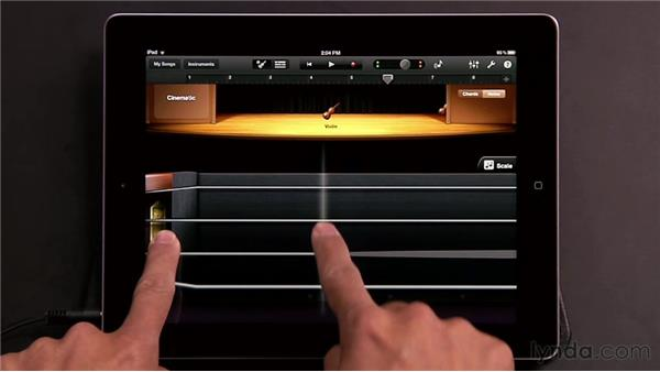 Playing Smart Strings: GarageBand for iOS Essential Training