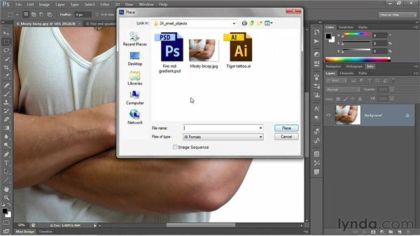 Smart Objects: Photoshop CS6 One-on-One: Advanced