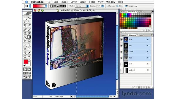 introduction to layer channels: Photorealism with Bert Monroy: Volume 1
