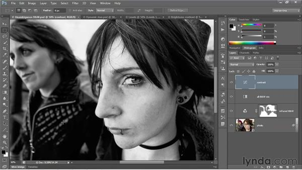 Introducing the Curves adjustment: Photoshop CS6 One-on-One: Advanced