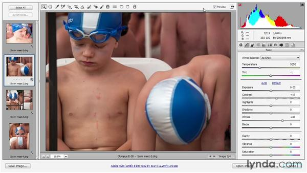 Opening and editing multiple images: Photoshop CS6 One-on-One: Advanced