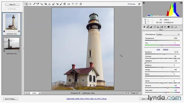 Working with archival images: Photoshop CS6 One-on-One: Advanced