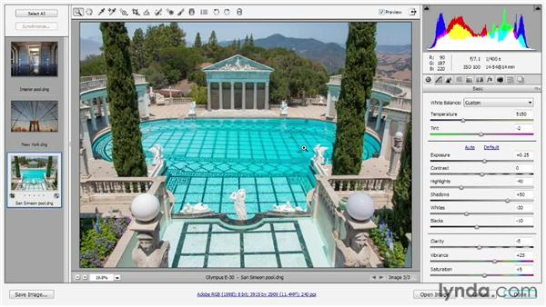Straighten, crop, and geometric distortions: Photoshop CS6 One-on-One: Advanced