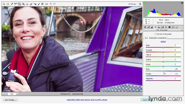 Selective hue, saturation, and luminance: Photoshop CS6 One-on-One: Advanced